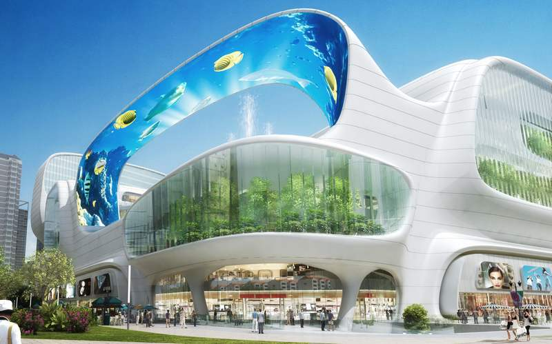 The Dongfeng Shopping Mall by amphibanArc (11)
