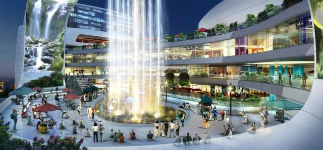 The Dongfeng Shopping Mall by amphibanArc (10)