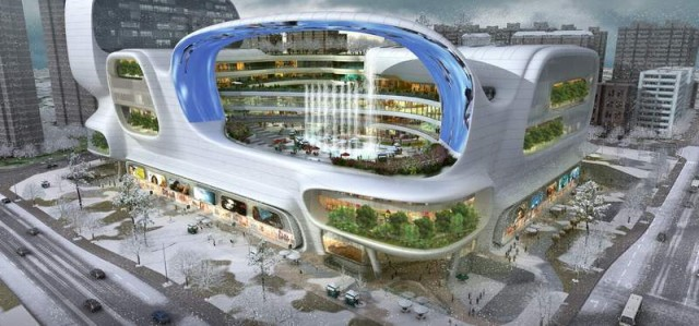 The Dongfeng Shopping Mall by amphibanArc (5)