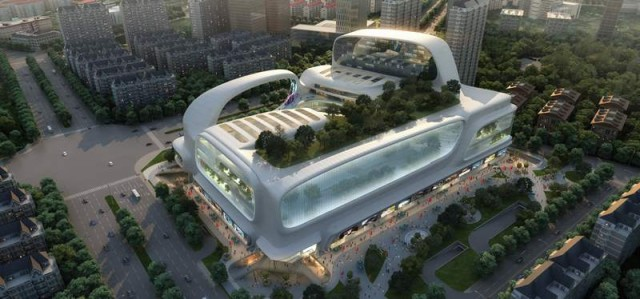 The Dongfeng Shopping Mall by amphibanArc (4)