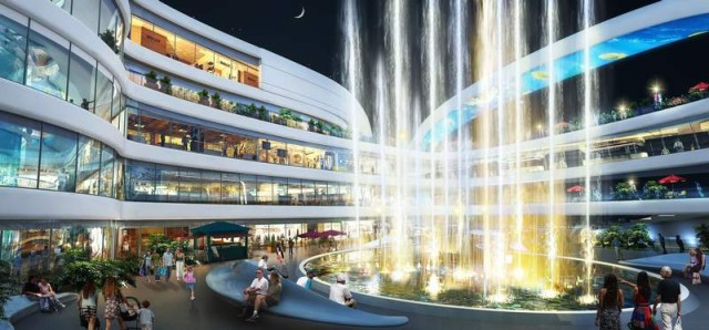 The Dongfeng Shopping Mall by amphibanArc (3)