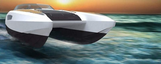 40 foot 'Lightning' fast catamaran (1)