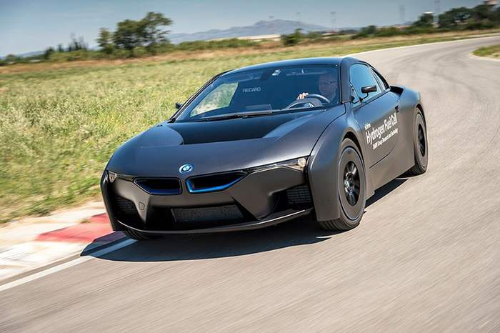 Bmw Reveals New Hydrogen Bmw I8 Concept Wordlesstech