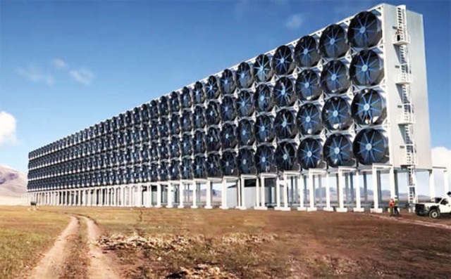 Carbon Engineering- Capturing carbon dioxide directly from the air