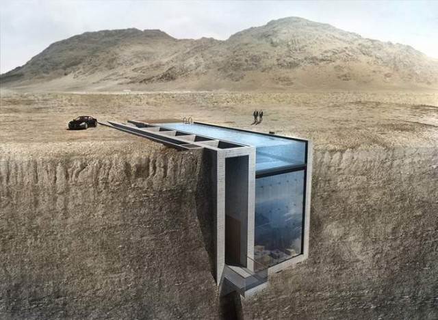Casa Brutale on the Aegean Sea by OPA