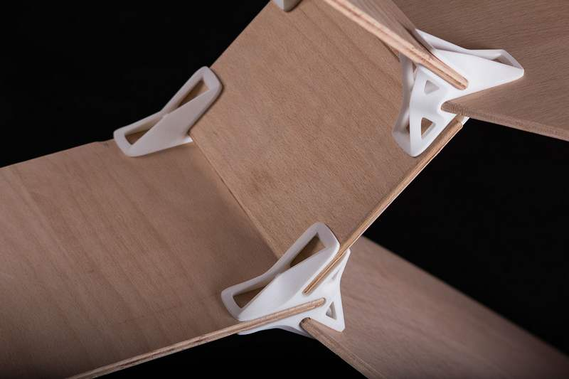 Construct your own furniture with 3d printed joints for Furniture 3d printing