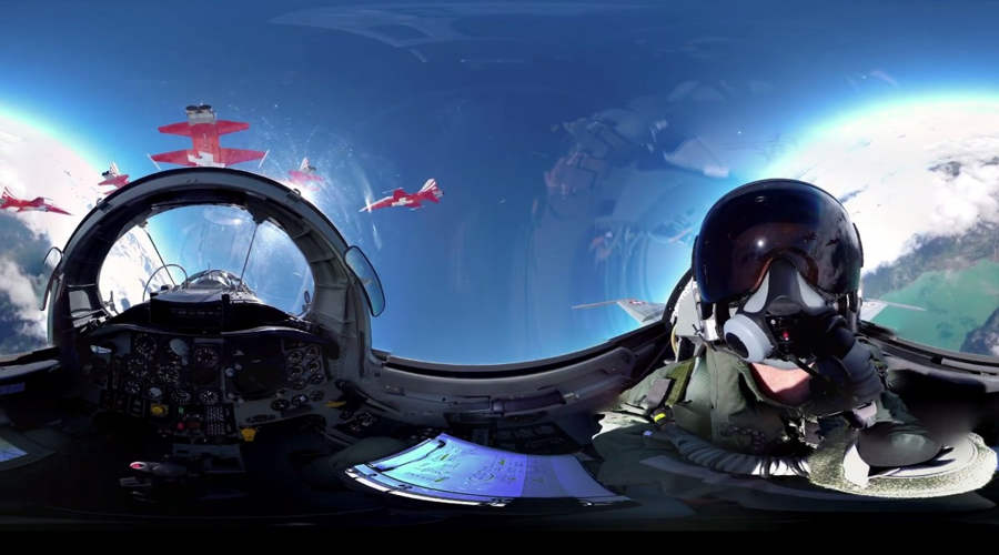 Fighter Jet 360 Experience