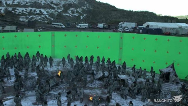 How Game Of Thrones Zombie Battle was made (2)