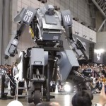 Mega Robot Duel between America and Japan