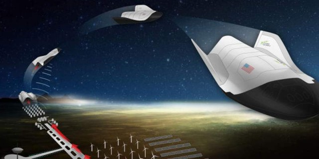 Microwave-powered Spaceplane by Escape Dynamics (3)