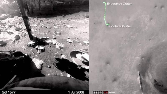 Opportunity across the Red Planet