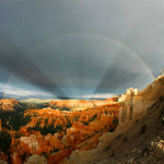 Rays and Rainbows over Bryce Canyon