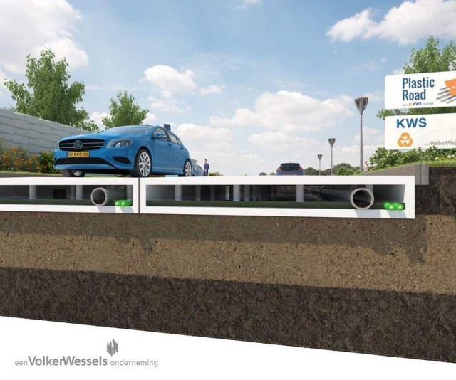 Recycled Plastic Roads project 2