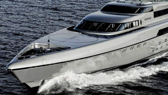 SILVER FAST superyacht by Burgess