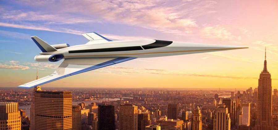 Spike S-512 Supersonic Jet (1)