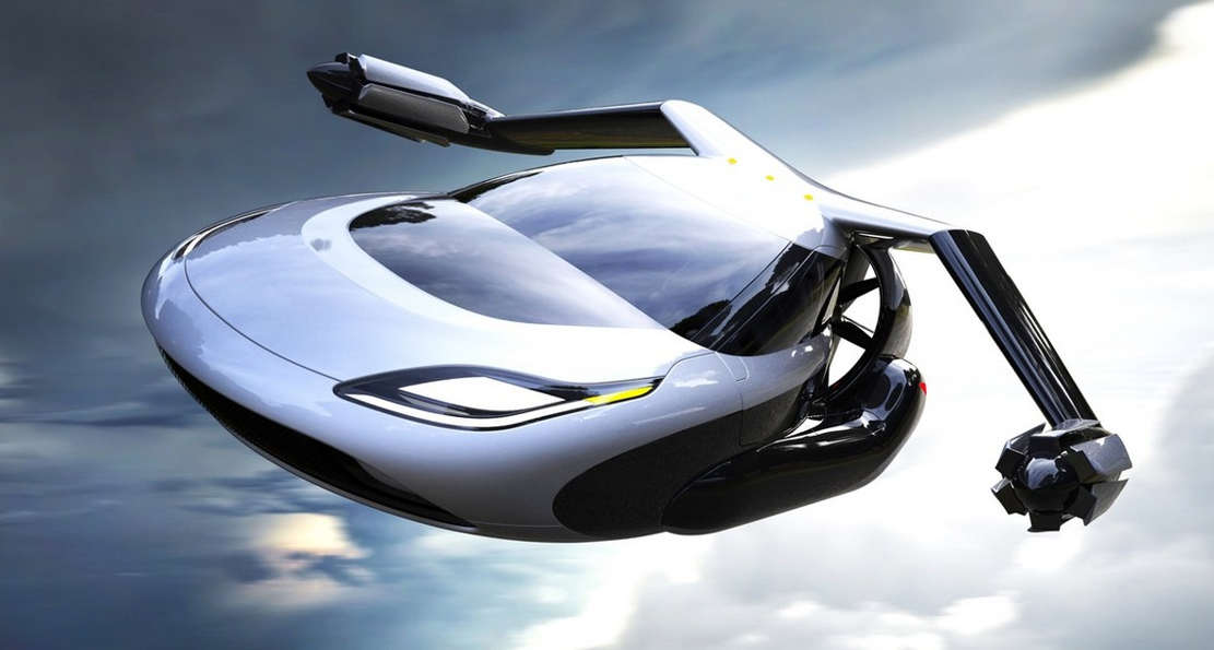 TF-X new Driverless Flying Car