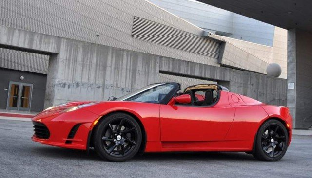 Tesla Roadster electric sports car