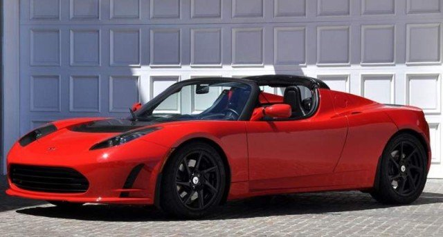 Tesla Roadster electric sports car (7)