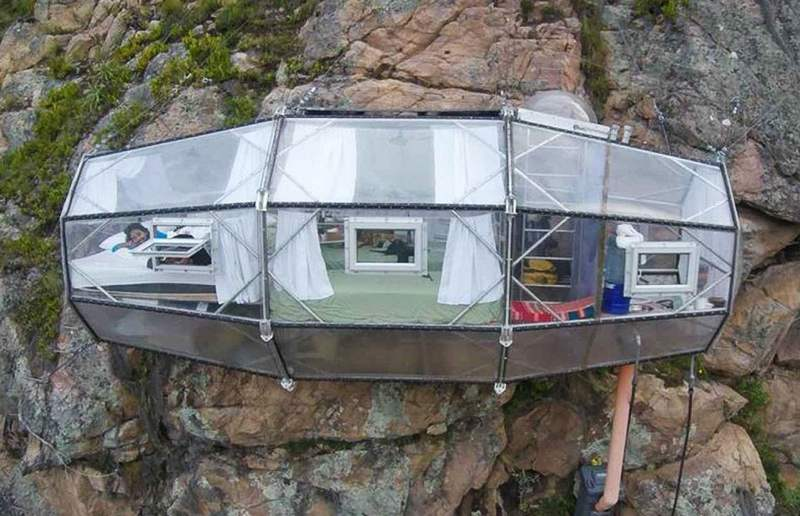 The Skylodge Adventure suites in Peru (7)