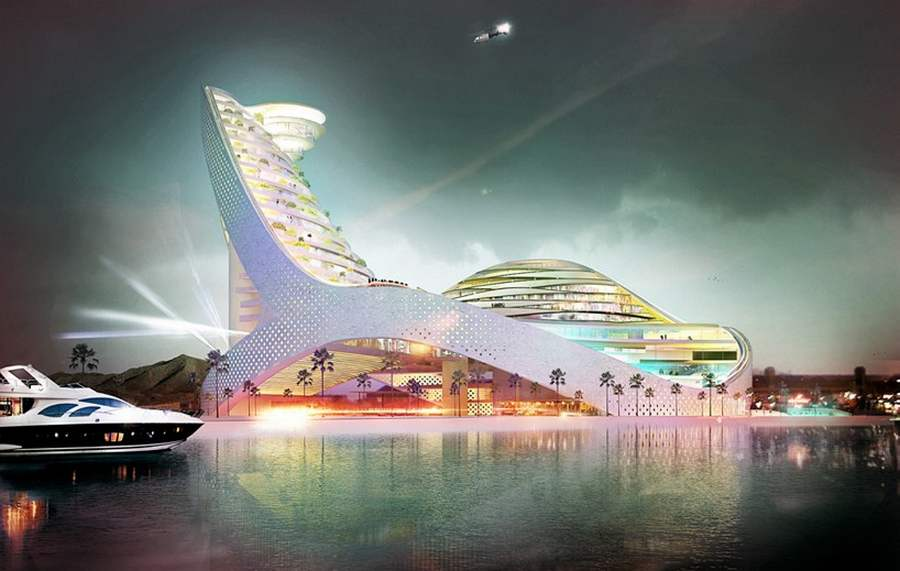 The new Avaza Aqua Park by Julien de Smedt Architects (10)