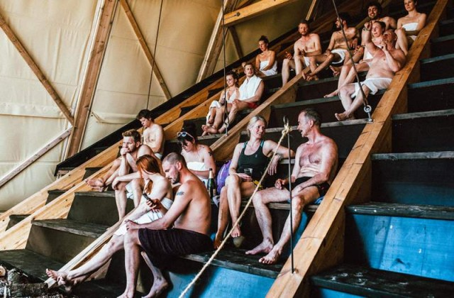 The worlds largest Sauna pyramid (3)