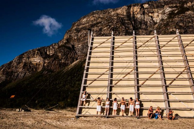 The worlds largest Sauna pyramid (2)