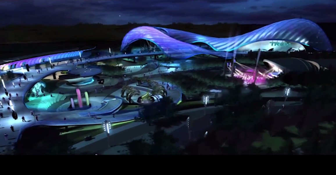 Tomorrowland at Shanghai Disneyland
