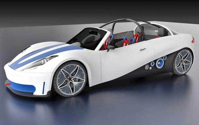 first production line of 3D-printed cars