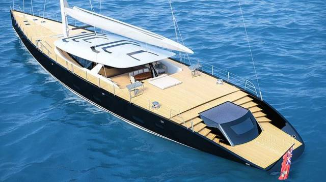 50m sloop sailboat by Ferrari and Franchi (4)