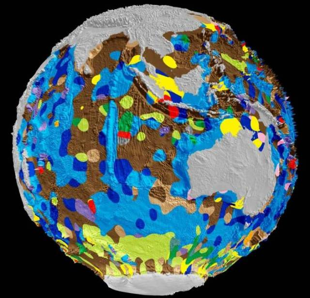 Global Digital Map of Seafloor