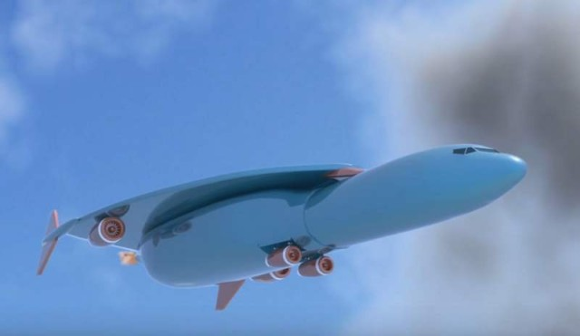 Airbus files patent for a Hypersonic Jet 1