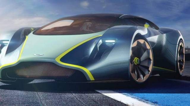Aston Martin working on a road hypercar (10)