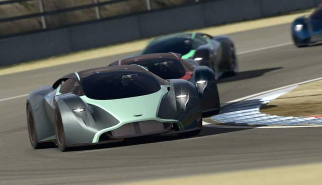 Aston Martin working on a road hypercar (7)