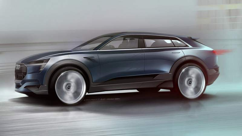 Audi electric 'sporty SUV'
