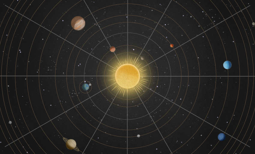 Brilliant Interactive map of the Solar System (1)
