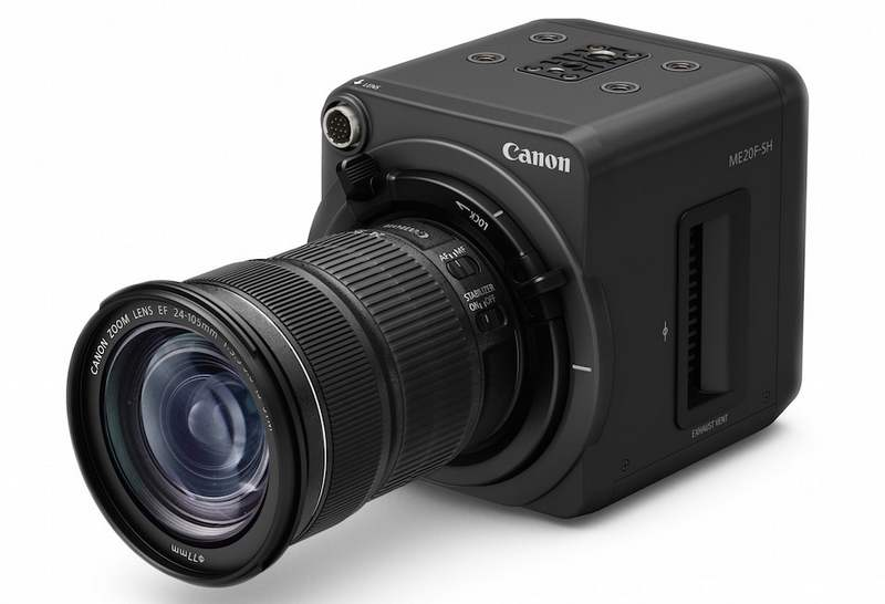 Canon ME20F-SH video camera