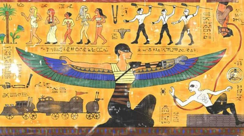Mad Max Fury Road, in Hieroglyphs