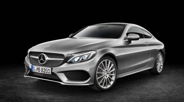 New Mercedes Benz C300 Coupe (2)