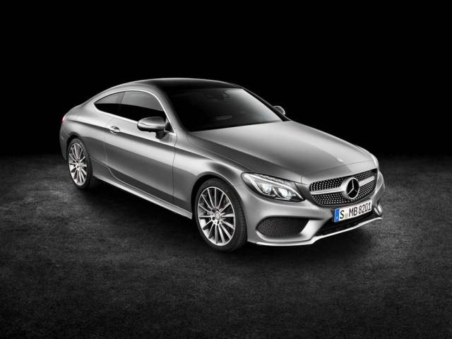 New Mercedes Benz C300 Coupe (3)