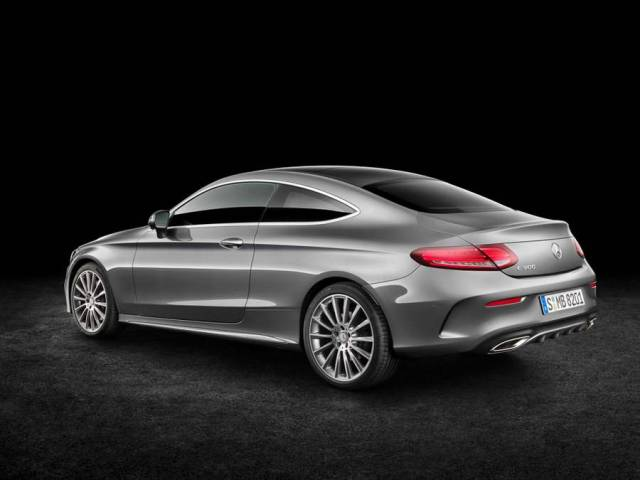 New Mercedes Benz C300 Coupe (4)