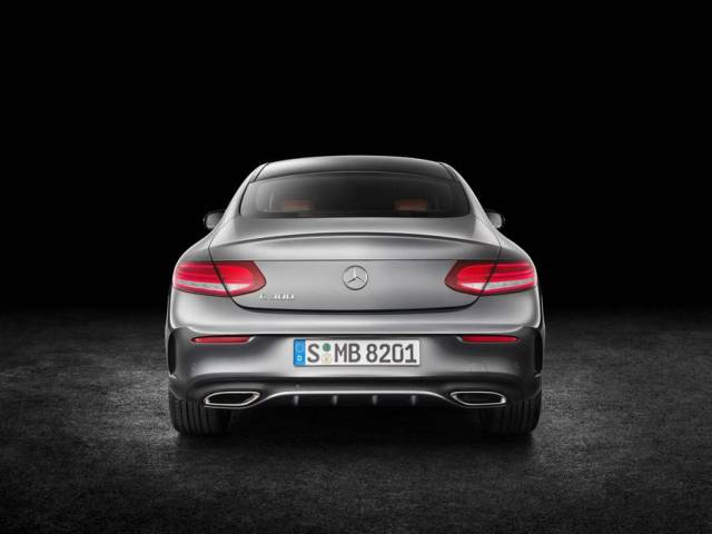 New Mercedes Benz C300 Coupe (5)
