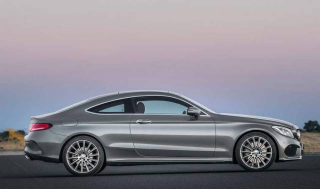 New Mercedes Benz C300 Coupe (9)