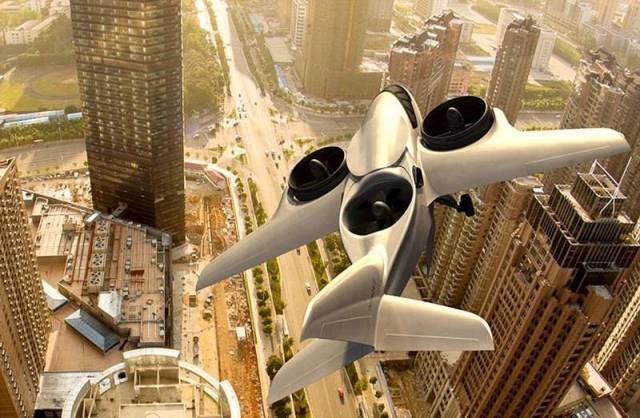 Passenger Jet can take off like a Helicopter