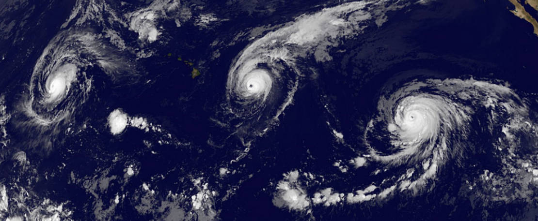 Three Category 4 hurricanes at the same time (1)