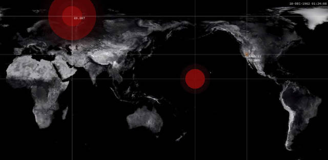 Visualization of Nuclear detonations
