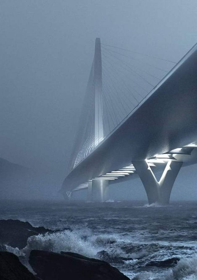 Danjiang Bridge Competition by ZHA