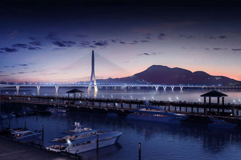 ZHA wins Danjiang Bridge Competition