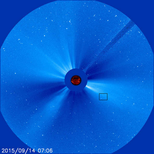3,000th Comet spotted by SOHO (4)