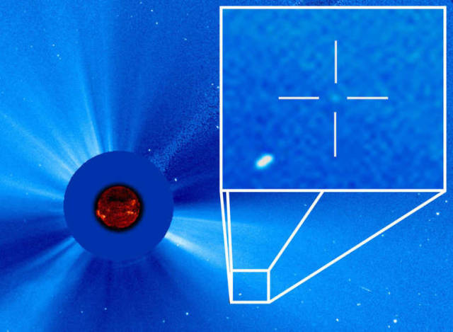 3,000th Comet spotted by SOHO (3)
