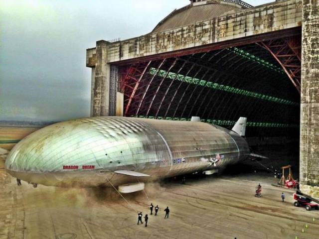 Aeroscraft- world's largest aircraft